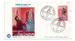 Journée Du Timbre 1962-Nimes - Voir état - FDC