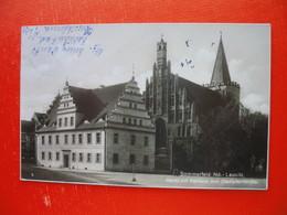 Sommerfeld.Markt Mit Rathaus Und Stadtpfarrkirche - Sommerfeld
