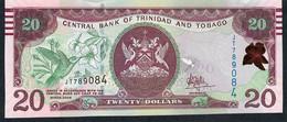 Trinidad & Tobago P58b  20 Dollars 2006 # JT  Mark For Blind Issued 2017 Unc. - Trinité & Tobago