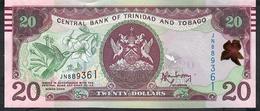 TRINIDAD AND TOBAGO P58a 20 DOLLARS 2006 Signature 9 (2014) # JN  UNC. - Trinité & Tobago