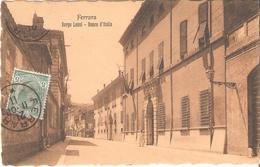 FERRARA - Borgo Leoni - Banca D'Italia - 1908 - Ferrara