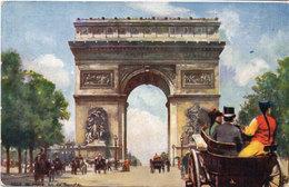 Ville De Paris - Arc De Triomphe - Attelages   (109149) - Paintings