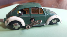 Schuco Micro Racer, 1046; VW, With Schuco Key - Jouets Anciens