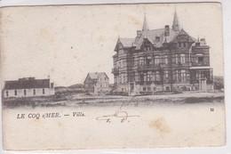 De Haan, Coq Sur Mer, Villa, 2 Scans, - De Haan