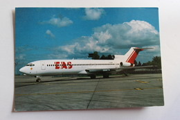 CPM Avion Boeing 727 F-GGRR Paris Orly Compagnie Aérienne Europe Aero Service EAS - 1946-....: Moderne