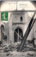 78 MONTCHAUVET - Intérieur De L'église Après L'explosion - Autres Communes