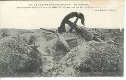 Cpa 51 Souain , Les Restes Du Moulin à Vent , écrite - Souain-Perthes-lès-Hurlus