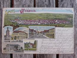 GRUSS AUS WERBACH  - 1903 - Deutschland