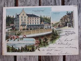 GRUSS VOM HOTEL ALTENBERG- 1904 - Altenberg
