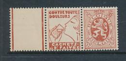 BELGIQUE 1929/32 ISSUES  COB PU 42 MNH - Publicités
