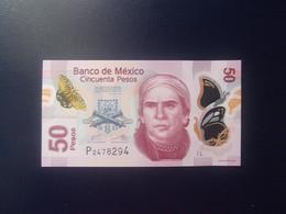 MEXICO 2013, 10-06-2013, 50 PESOS, POLIMERO, P-123Ad.4, SC-UNC - Mexico