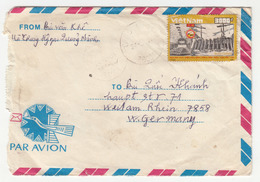 Vietnam, Letter Cover Travelled 1991 B180820 - Viêt-Nam