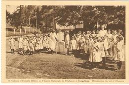 Colonie D'Enfants Débiles De L'Oeuvre Nationale De L'Enfance à Dongelberg - Distribution Du Lait à 10 Heures - Jodoigne