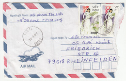 Vietnam, Letter Cover Travelled 1997 B180820 - Viêt-Nam