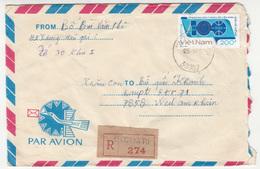 Vietnam, Registered Letter Cover Travelled 199? B180820 - Viêt-Nam