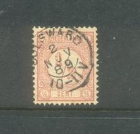 Kleinrond Bolsward Op Nvph 30 - 1852-1890 (Guillaume III)