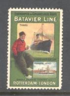Batavier Line Rotterdam London - Advertising