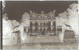 Dépt 80 - CANAPLES - PLAQUE De VERRE (négatif Photo Noir & Blanc, Cliché R. Lelong) - Le CHÂTEAU - France