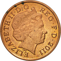 Monnaie, Grande-Bretagne, Elizabeth II, Penny, 2011, TB+, Copper Plated Steel - 1971-… : Monnaies Décimales