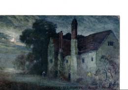 """SHAKESPEARE'S COUNTRY"" Série IX. Raphaël Tuck ""Oilette""  ""Haunted"" Hillborough. - England"