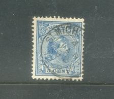 Kleinrond St Mich:-Gestel Op Nvph 35 - 1891-1948 (Wilhelmine)