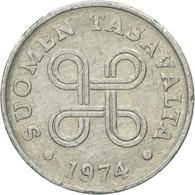 Monnaie, Finlande, Penni, 1974, TTB, Aluminium, KM:44a - Finlande
