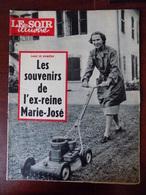 """Revue """"le Soir Illustré"""" N° 1390 / Ex-reine Marie-José - Affaire Lacaze - Bistouri Atomique - Cléopatre........... - Informations Générales"""