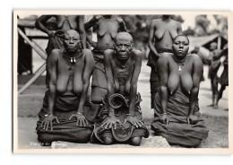 CPA Carte Photo L'Afrique Qui Disparait - Famille Lukengo - Congo - Kinshasa (ex Zaire)