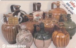 SERBIA - Kroz Srbiju / Grnčarija, Kraj XIX Veka, 09/01, Sample No Control Number - Joegoslavië