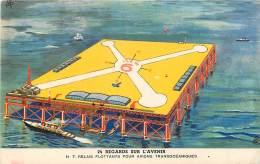 Publicité Byrrh , Regards Sur L'avenir , Relais Flottants Pour Avions , * 316 10 - Aviazione