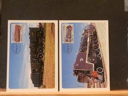 78/351  4 MAXI CARTE RSA - Trains