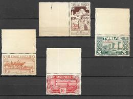 Tunisie - 1944/45 - Au Profit De L'œuvre Des Combattants - Y&T N° 269 à 272 ** Neuf  ( Gomme Jaunie) Voir 2 (scans). - Tunisie (1888-1955)
