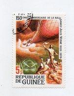 GUINEA BISSAU - 1978 - Francobollo Tematica Trasporti - Mongolfiere - Usato - (FDC11445) - Guinea-Bissau