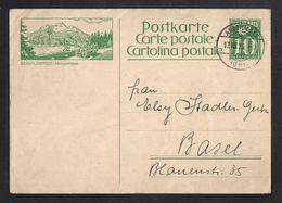 Schweiz Suisse 1926: Postauto Saurer  SILVAPLANERSEE Malojastrasse Zumstein 107 Bild 40 O ANDERMATT 17.VIII.26 (Zu 9.00) - Bussen