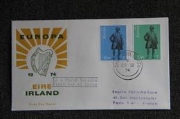 FDC- IRLANDE- EUROPA 1974 - FDC