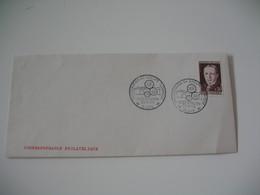 Enveloppe 1964 Cachet Inauguration Du Groupe Technique Lycée A. Thierry Blois N° 1423 - Marcofilia (sobres)