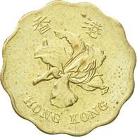 Monnaie, Hong Kong, Elizabeth II, 20 Cents, 1998, TTB+, Nickel-brass, KM:67 - Hong Kong