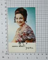 DUŠICA BILKIĆ, PEVAČICA - FOTOGRAFIJA SA ORIGINALNIM AUTOGRAMOM-Vintage PHOTO With ORIGINAL Autograph (YU01-96) - Reproductions