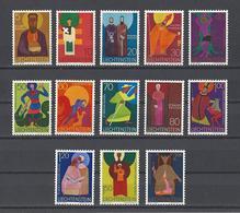 LIECHTENSTEIN. YT  434/445  Neuf **  Patrons D'églises  1967 - Neufs