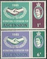 ASC 1963-94-5 100A°I T U, ASCENSION, 1 X 2v, MNH - Organizations