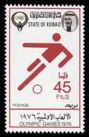 Soccer Football 1976 Kuwait #686 MNH ** Olympics Montreal - Football