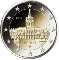 "Alemania 2€ 2.018 ""Berlín – Palacio De Charlottenburg"" 5 CECAS  A J F G D   SC/UNC  T-DL-12.237 - Alemania"