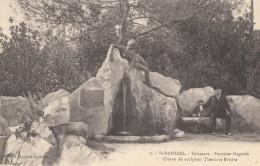 CPA - St Raphaël - Valescure - Fontaine Siagnole - œuvre Du Sculpteur Théodore Rivière - Saint-Raphaël