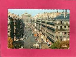 75 Paris 1er, Avenue De L'Opéra, Animée, Voitures, 1957, (Chantal) - Arrondissement: 01