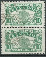 Réunion  - Yvert N° 85 Paire Verticale Oblitéré-   Ava20902 - Usati
