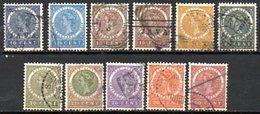 PAYS-BAS - (INDE NEERLANDAISE) - 1903-08 - N° 48 à 57 - (Lot De 11 Valeurs Différentes) - Niederländisch-Indien