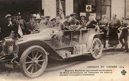 CROIX ROUGE(SOISSONS) AUTOMOBILE - Croix-Rouge