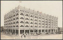 Hudson Bay Co's Store, Calgary, Alberta, C.1910 - AZO RPPC - Calgary