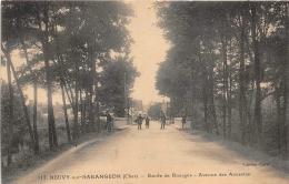 NEUVY SUR BARANGEON       ROUTE DE BOURGES - Autres Communes