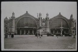 """CPA NOIR & BLANC - TOURS """" LA GARE """" - Le 8/05/1944 - Tours"""
